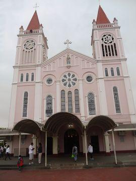 Kostel v Baguiu