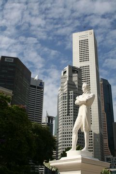Zakladatel Singapuru sir Thomas Stamford Raffles