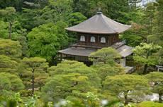 Stříbrný chrám v Kjótu