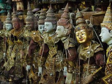 Barmské loutky