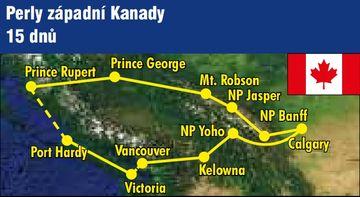 Kanada - perly zapadni 2017