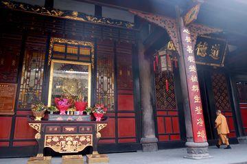 Klášter Wenshu v Chengdu