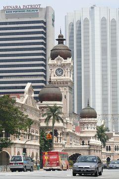 Náměstí Merdeka - Kuala Lumpur
