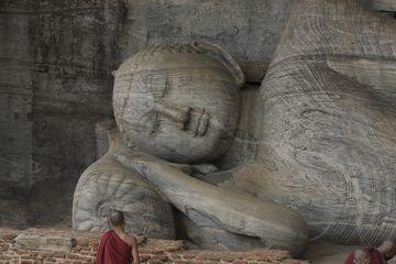 Ležící Buddha v Polonnaruvě