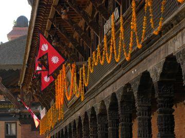 Výzdoba Bhaktapuru