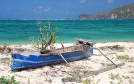 Pláž na ostrově Lombok