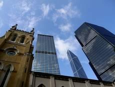Kontrast moderního a starého Hongkongu