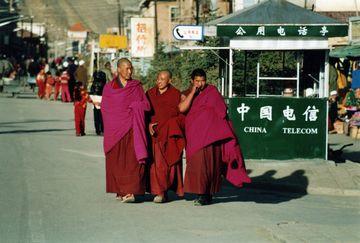 Mniši v Labrangu
