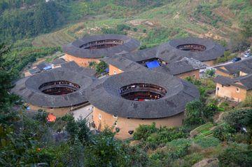 Kruhové stavby tulou