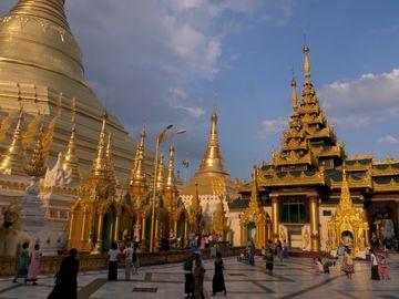 Rangún – pagoda Shwedagon