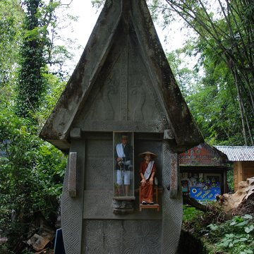 Hrob, Tana Toraja na Sulawesi