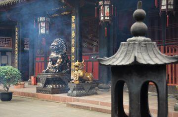 Chengdu – klášter Wenshu