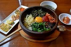 Jedno z nejznámějších korejských jídel - bibimbap