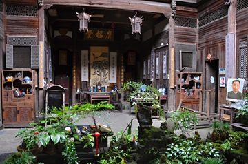 Interiér domku ve vesničce Xidi
