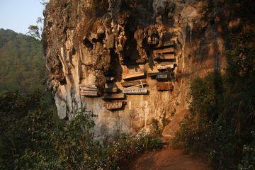 Pohřebiště v Sagada
