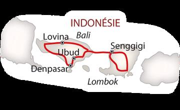 Bali a Lombok všemi smysly 2018 bílá_mapa