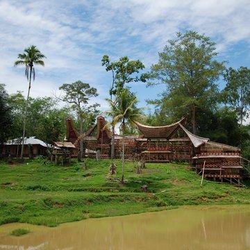 Vesnice Kete Kesu, Tana Toraja na Sulawesi