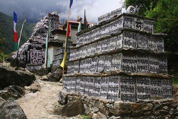 Posvátné mani kameny, NP Sagarmatha