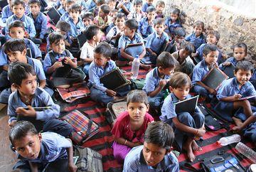 V indické škole