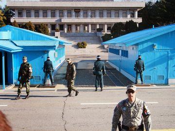 Korejsko-korejská hranice z jihu