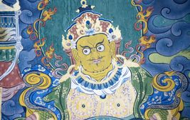 Freska Rinpočeho, šiřitele buddhismu