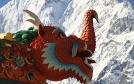 Vrcholky Himálaje
