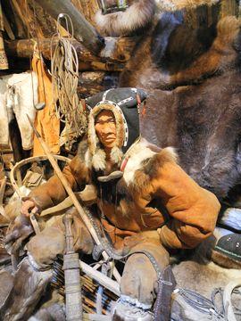 Působivá expozice etnografického muzea ve vesničce Esso