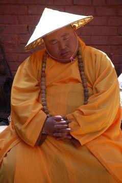 Wutaishan – meditující mnich