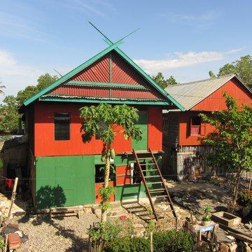 Bugiský dům, jižní Sulawesi