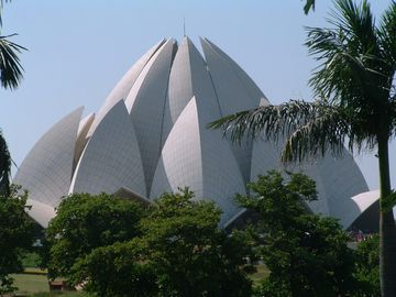 Lotosový chrám, Dillí