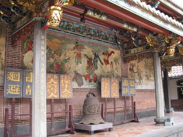 Taoistický chrám Bao-an v Taipeji