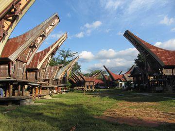 Toradžské domy, Sulawesi