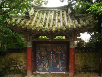 Zadní brána chrámu Pulguksa, Kjongdžu