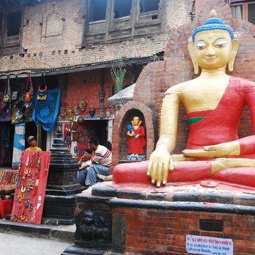 Buddha na Svajambhunáthu