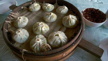 Plněné knedlíčky baozi