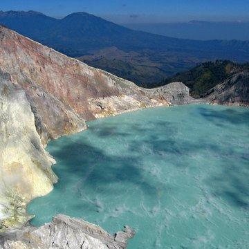 Kráter sopky Ijen, Jáva