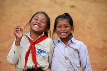 Laoské holčičky