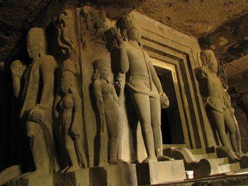Jeskyně v Ellóře