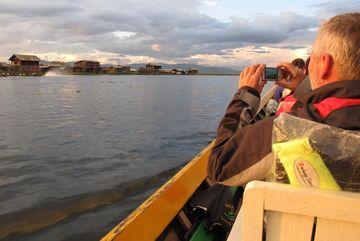 Vesnice na jezeře Inle