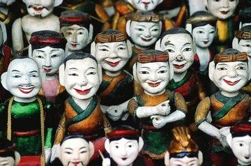 Loutky vietnamského vodního divadla