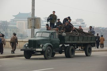 Ze severokorejského venkova