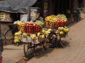Mobilní prodej ovoce