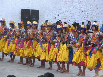 Festival v Bumthangu