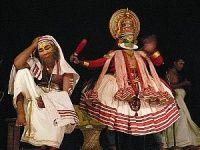Představení tance kathakali