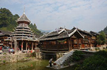 Dongská vesnice Shaoxing