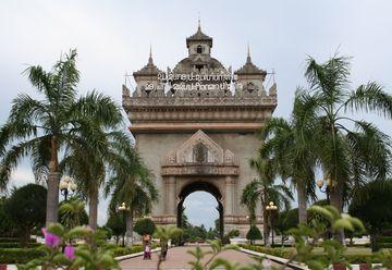 Vientiane - vítězný oblouk