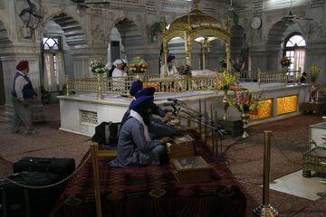 Sikhská gurudvára Bangla Sáhab v Dillí