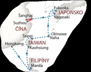 Lodí do Šanghaje 2018 bílá_mapa