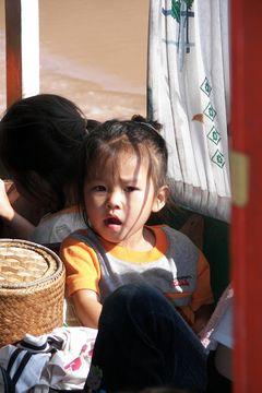 Laoská holčička