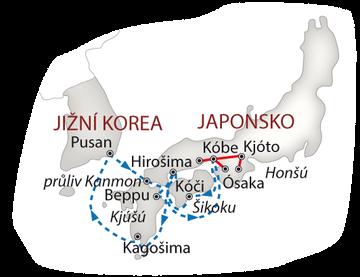 Lodí do Japonska 2018 bílá_mapa